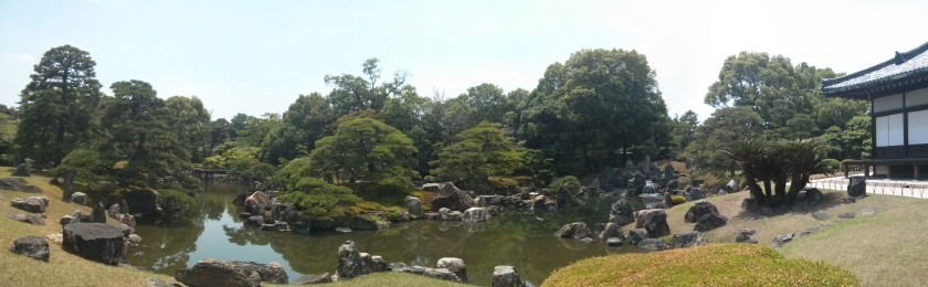 Nijō Castle garden.