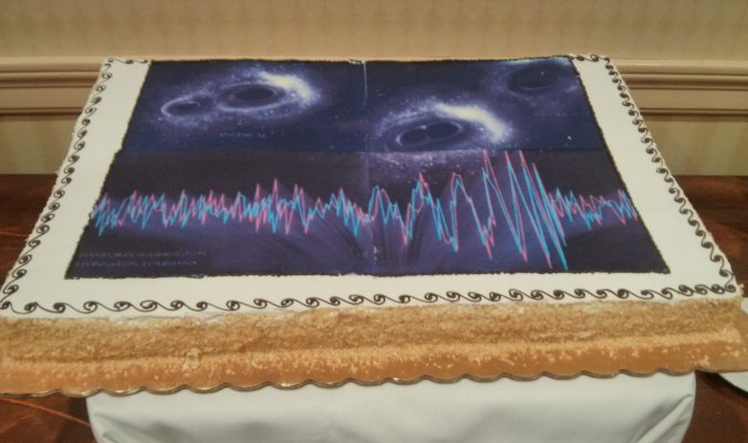 Gravitational wave detection cake