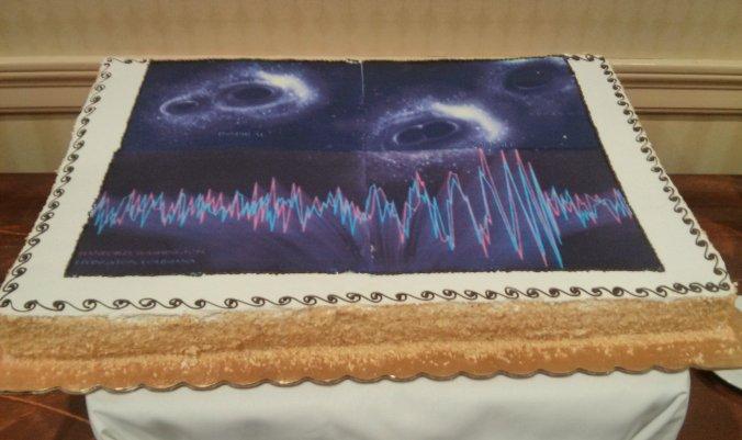 Gravitational wave detection cake