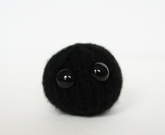 Knitted black hole